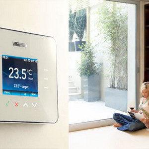 Elektromos padlófűtés termosztátok